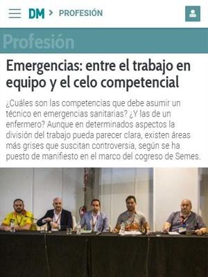 Emergencias: entre el trabajo en equipo y el celo competencial