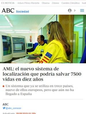 AML: el nuevo sistema de localización que podría salvar 7500 vidas en diez años