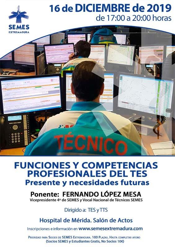 Jornada - Funciones y Competencias Profesionales del TES