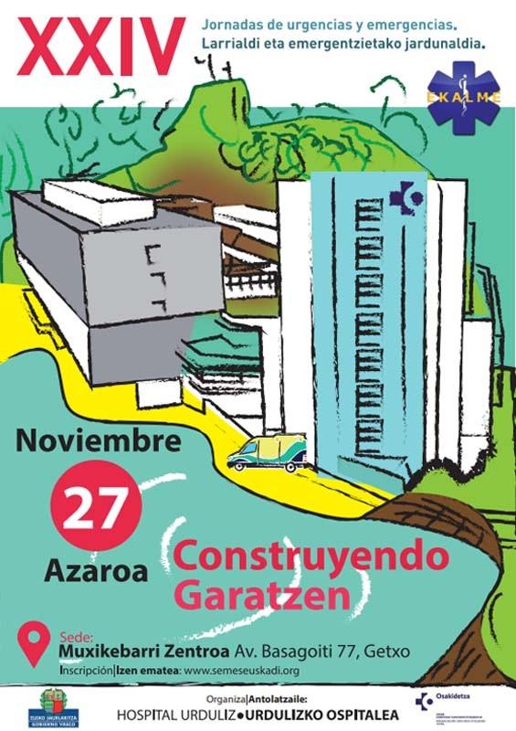 XXIV Jornadas de Urgencias y Emergencias - Contruyendo