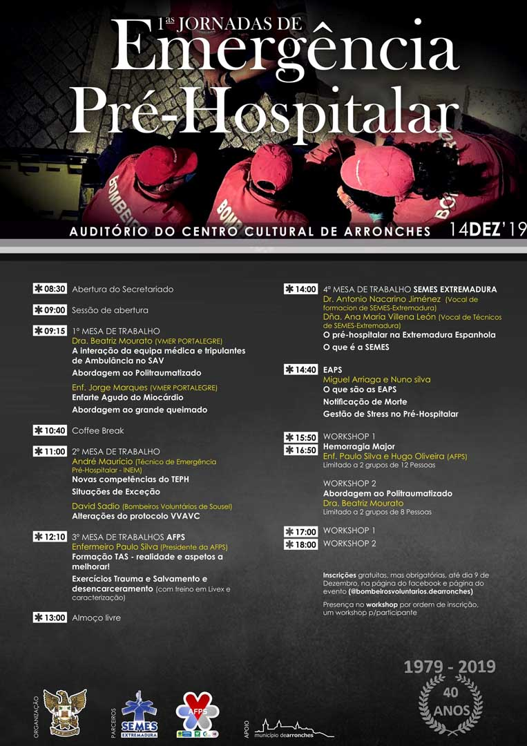 I Jornadas de Emergencia Pre-Hospitalaria
