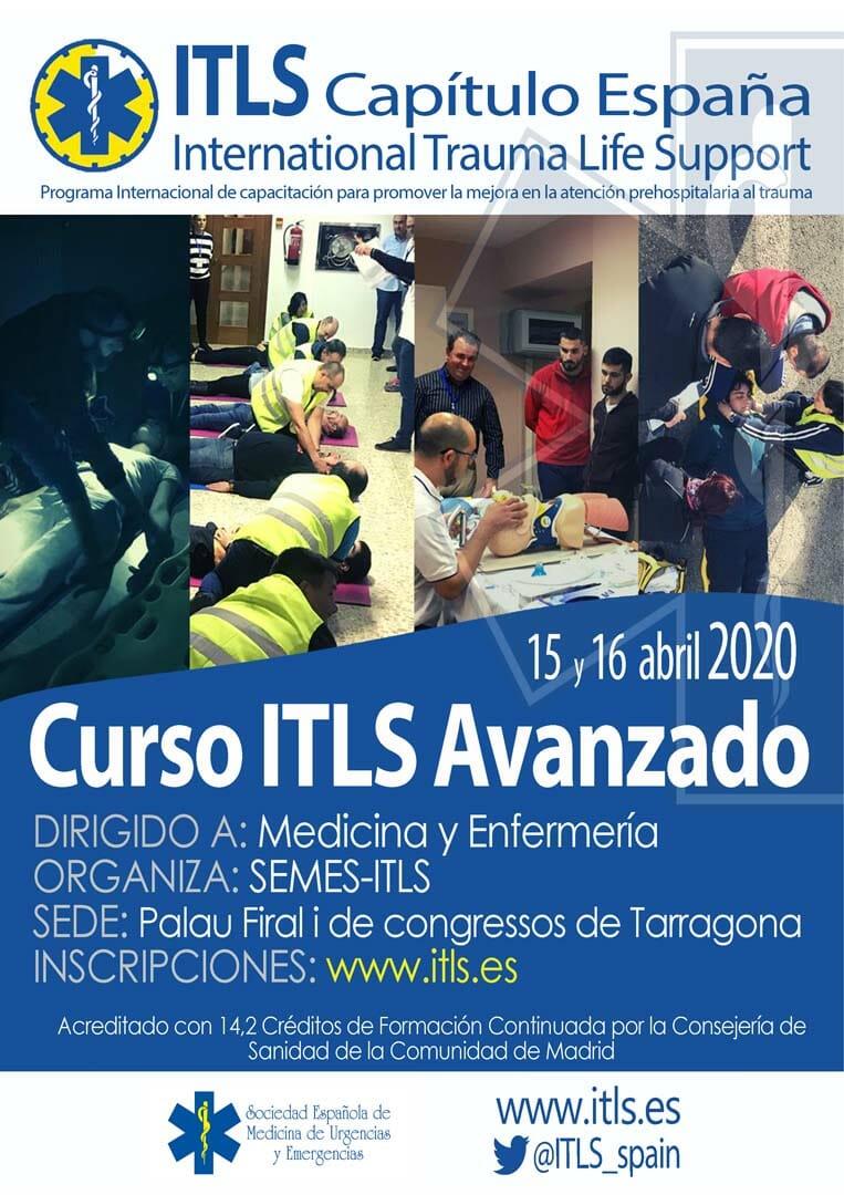 Curso Avanzado ITLS Tarragona