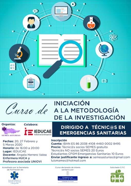 Curso de Iniciación a la Metodología de la Investigación