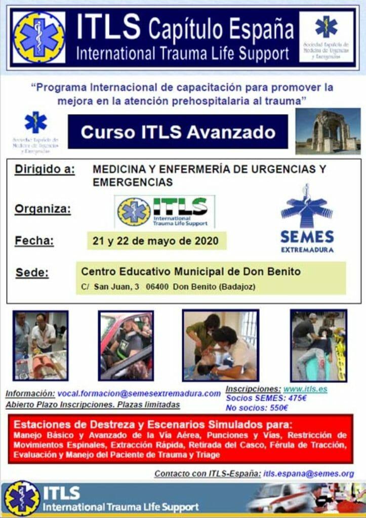Curso ITLS Avanzado 2020 Extremadura