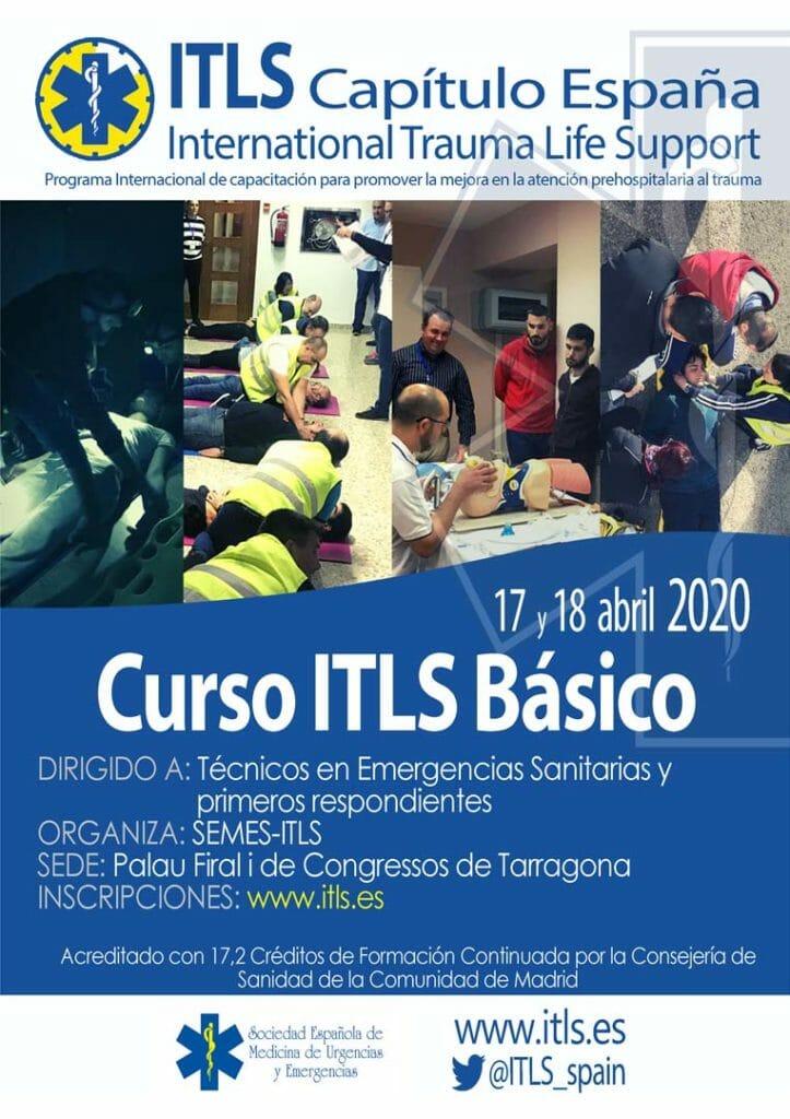 Curso ITLS Básico Tarragona