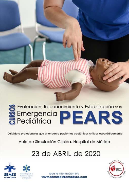 Curso PEARS: Evaluación, Reconocimiento y Estabilización de la Emergencia Pediátrica