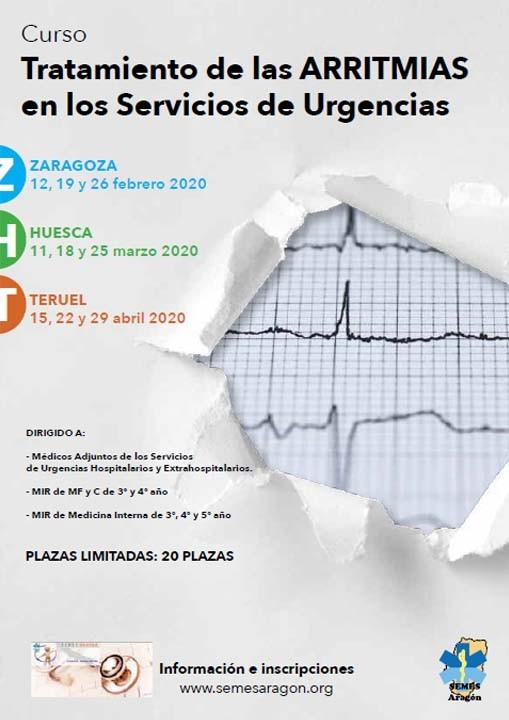 Curso Tratamiento de las ARRITMIAS en los Servicios de Urgencias
