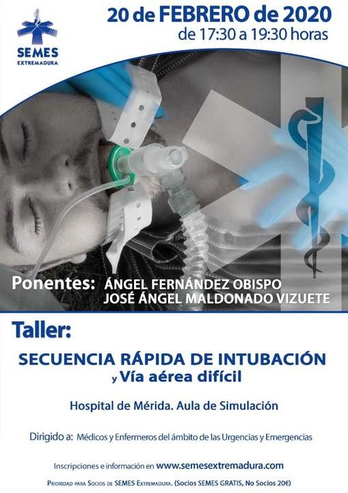 Taller: Secuencia rápida de Intubación y Vía aérea dificil