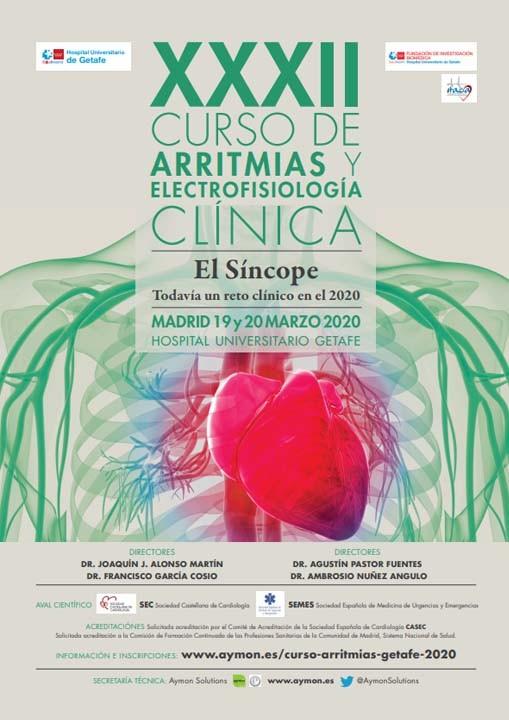 XXXII Curso de Arritmias y Electrofisiología Clínica