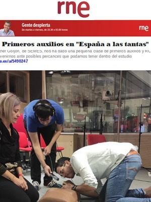 """Primeros auxilios en """"España a las tantas"""""""
