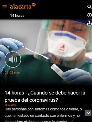 ¿Cuándo se debe hacer la prueba del coronavirus?