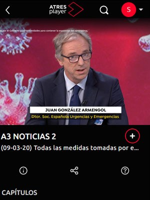 ANTENA 3 NOTICIAS DE LAS 21,00 HORAS Juan Armengol
