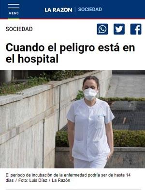 Cuando el peligro está en el hospital