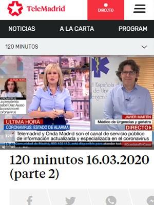 Javier Martin - 120 minutos