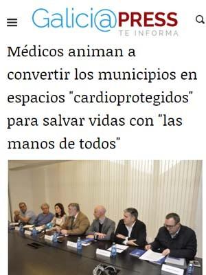 """Médicos animan a convertir los municipios en espacios """"cardioprotegidos"""" para salvar vidas con """"las manos de todos"""""""