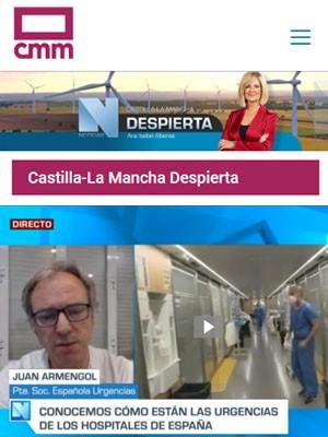 Juan Jorge Gonzalez Armengol en #CLMDespierta (Min 28)