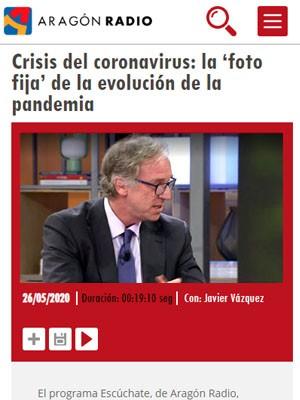Juan Jorge González Armengol en Aragón Radio