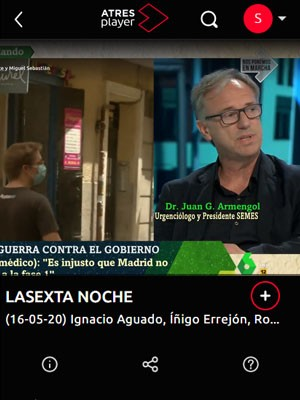 Juan Jorge Gonzalez Armengol en La Sexta Noche