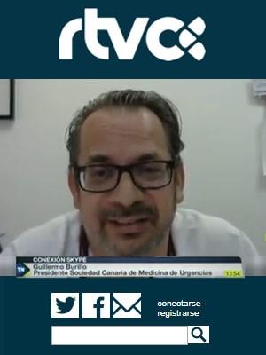 Guillermo Burillo asegura que los servicios de Urgencias no colapsaron en ningún momento