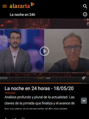 Juan jorge González Armengol en La Noche en 24horas
