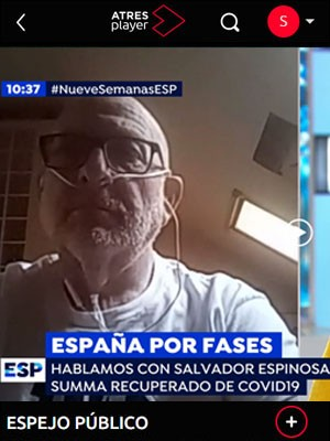 Entrevista a Salvador Espinosa en Espejo Público