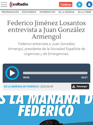 Federico Jiménez Losantos entrevista a Juan González Armengol