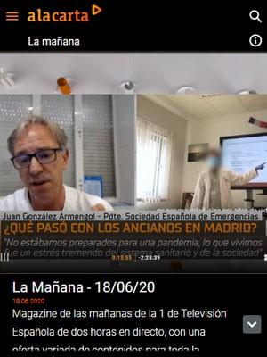 Juan Jorge González Armengol en La Mañana TVE