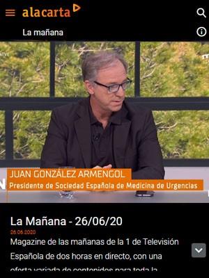 La Mañana TVE con Juan Jorge González Armengol