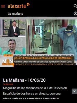 Tato Vázquez Lima en La Mañana TVE