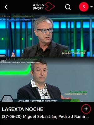 La Sexta Noche con Juan Jorge González Armengol y César Carballo