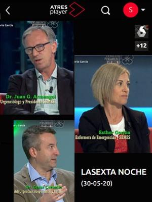 La Sexta Noche con Juan Jorge González Armengol, Esther Gorjón y César Carballo