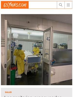 Los sanitarios, preocupados ante el riesgo de un nuevo rebrote de coronavirus
