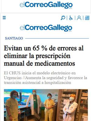 Evitan un 65 % de errores al eliminar la prescripción manual de medicamentos