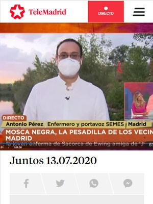 Antonio Pérez en Telemadrid