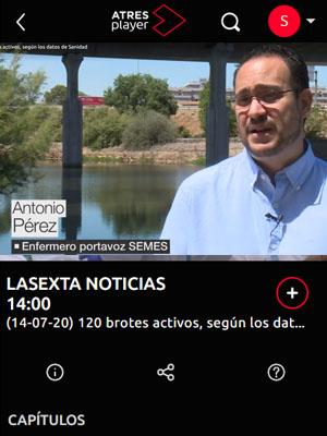 Antonio Pérez en la Sexta Noticias