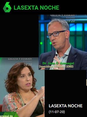 La Sexta Noche con Juan Jorge González Armengol y Raquel Rodriguez Merlo