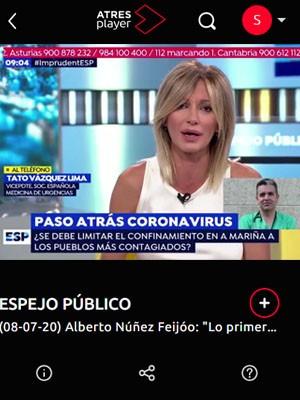 Tato Vázquez Lima en Espejo Público