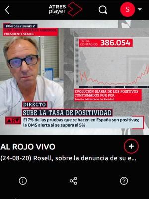 Juan Jorge González Armengol en AL Rojo Vivo (Min 158)