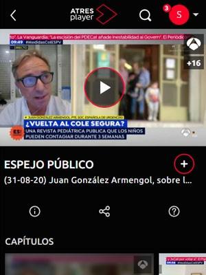 Juan Jorge González Armengol en Espejo Público