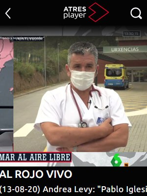 Tato Vázquez Lima en Al Rojo Vivo (13:30h)