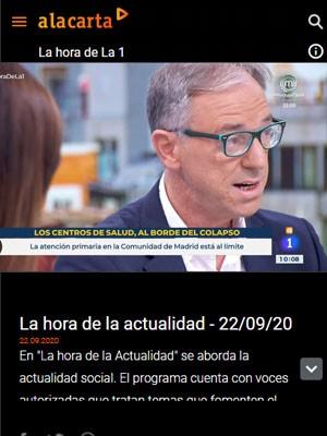La hora de La 1 con Juan Jorge González Armengol