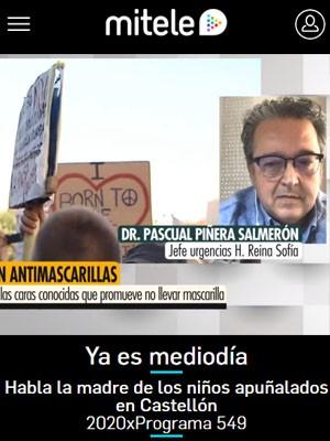 Pascual Piñera Salmerón en Ya es mediodía