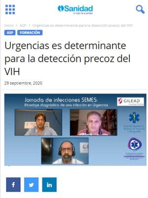 Urgencias es determinante para la detección precoz del VIH