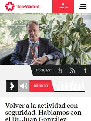 Volver a la actividad con seguridad. Hablamos con el Dr. Juan González Armengol