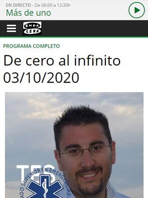 Fernando López Mesa en De Cero al Infinito