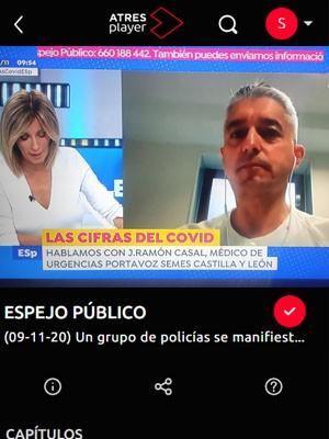 José Ramón Casal en Espejo Público (Min 59)