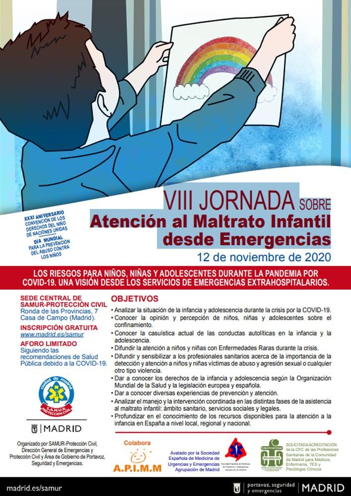 VIII JORNADA SOBRE Atención al Maltrato Infantil desde Emergencias