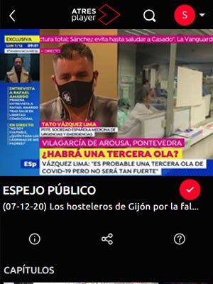 Tato Vázquez Lima en Espejo Público (Min 55)