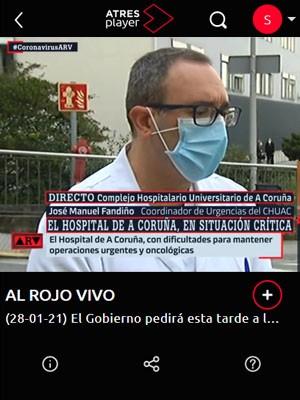 José Manuel Fandiño en Al Rojo Vivo (Min 82)