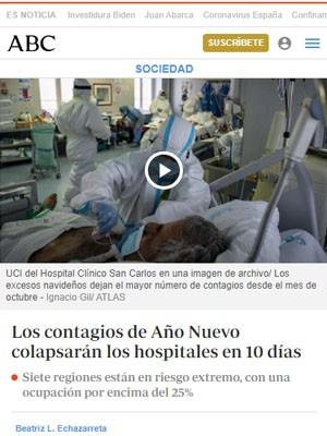 Los contagios de Año Nuevo colapsarán los hospitales en 10 días